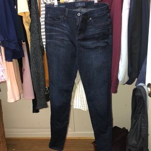 worn once lucky brand jeans